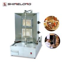 Hot Sale Commercial Salamander para cozinha Máquina de gás shawarma