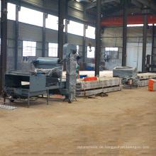 Steinplattierte überzogene Klebermetallstahl-Überdachungsrolle, die die ehemalige herstellende Stein beschichtete Metallziegel-Fertigungsstraße für Verkauf bildet