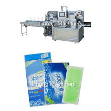 Four Side Seal Cool Patch Packing Machine