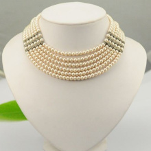 Fast Delivery for Supply Various Heart Pendant Necklace,Pendant Necklace,Circle Necklace,Chain Necklace of High Quality Six Strands Natural Pearl Necklace export to Marshall Islands Factory