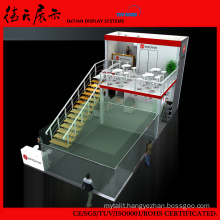 Personality Practical Double Floors Shanghai Exhibition Panel Display