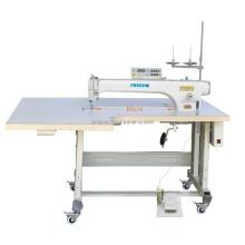 Máquina de costura de ponto fixo de computador de acionamento direto de braço longo