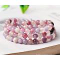 Neuer Ankunfts-natürlicher Edelstein-loser Strang 5-5.5, 6-6.5, 7, 8 Millimeter natürlicher rauer rosafarbener Turmalin