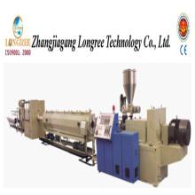 Máquina de extrusão de tubo de drenagem de água de PVC