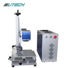 máquina de alta velocidade da marcação do laser da fibra para o aço