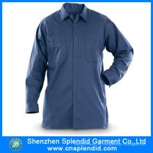 Ropa de trabajo al por mayor uniforme de trabajo de las mangas largas del algodón de la ropa