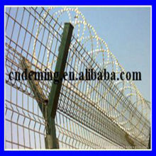 DM factory airport wire mesh fence, 3D curved airport fence