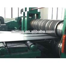 Máquina de corte por bobina de aço metálico