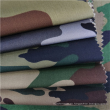 Tela de camuflaje militar de sarga TC Blend