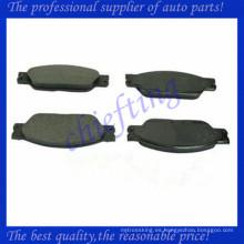 D1065 D933 AT1065 C2C20686 C2C23786 almohadilla de freno de cerámica para jagura s tipo xj8