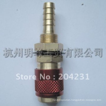 Special welding joint with check valve