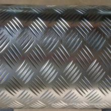 5052 Aluminio Bobina Checkered para el piso