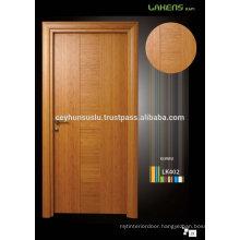 New Idea Bamboo Veneer Wooden Interior Door with Fish-bellied Jamb