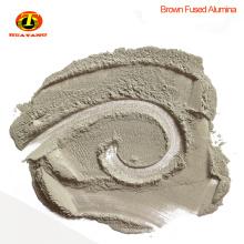 Abrasivo de polvo de óxido de aluminio marrón para pulido de piedra