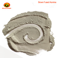 Brown aluminum oxide powder abrasive for stone polishing