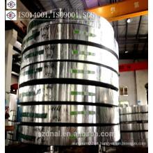 Tiras de alumínio 8011 com temperamento O para tampas de garrafa médica