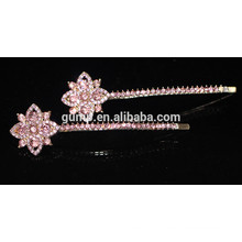 2015 New Rhinestone bobby pin perlé Crystal Metal Barrettes