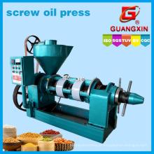 Processamento do óleo de sementes de girassol da máquina do óleo de controlo da temperatura