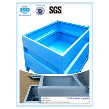 Hochwertige Pulverlackierung Metallbehälter Stock Box