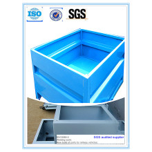 High Quality Powder Coating Metal Container Stock Box