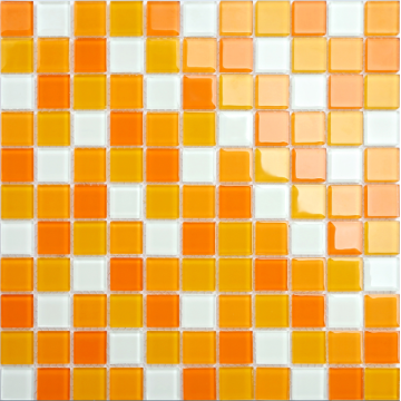Küchendekoration orange Mosaik
