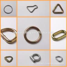 métal anneau delta triangle anneau
