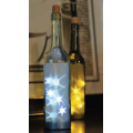 Glass Bottle with LED Light