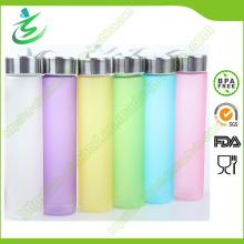 Botella de cristal de agua de Voss de la alta calidad de 400 ml / botella de agua de Voss