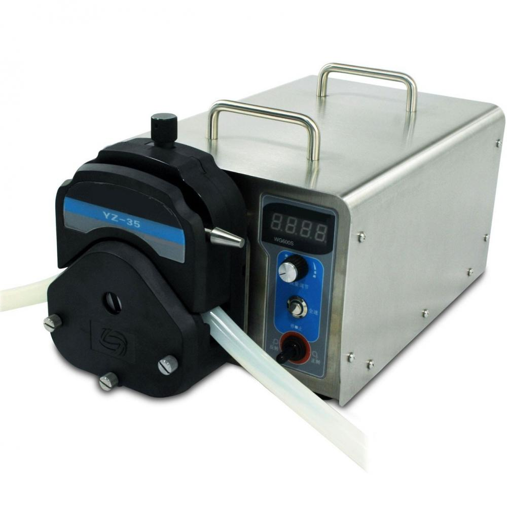 viscous fluid peristaltic pump