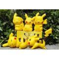 Mini Nettes kundengebundenes Pokemon PVC-Tätigkeits-Abbildung Puppe-Kind-Spielwaren