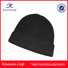 High quality 2016 100% wool beanie hats custom