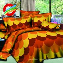La moda 3d imprime la tela del pigmento para hacer las hojas de cama fijadas