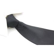 100% tejido poliéster corbata para los hombres