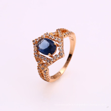 12335 Fashion jewelry 18k gold color luxury special price ring for women
