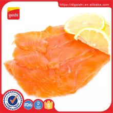 Salmón de pescado IQF congelado de alta calidad