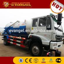 Camions d'eaux d'égout de camion d'aspiration d'eaux d'égout du camion 6x4 de vidange des eaux usées 15m3 à vendre