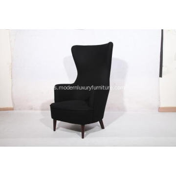 Sillas reclinables de tela Wingback
