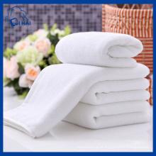 100% algodão branco toalha de Terry (qhwd88905)