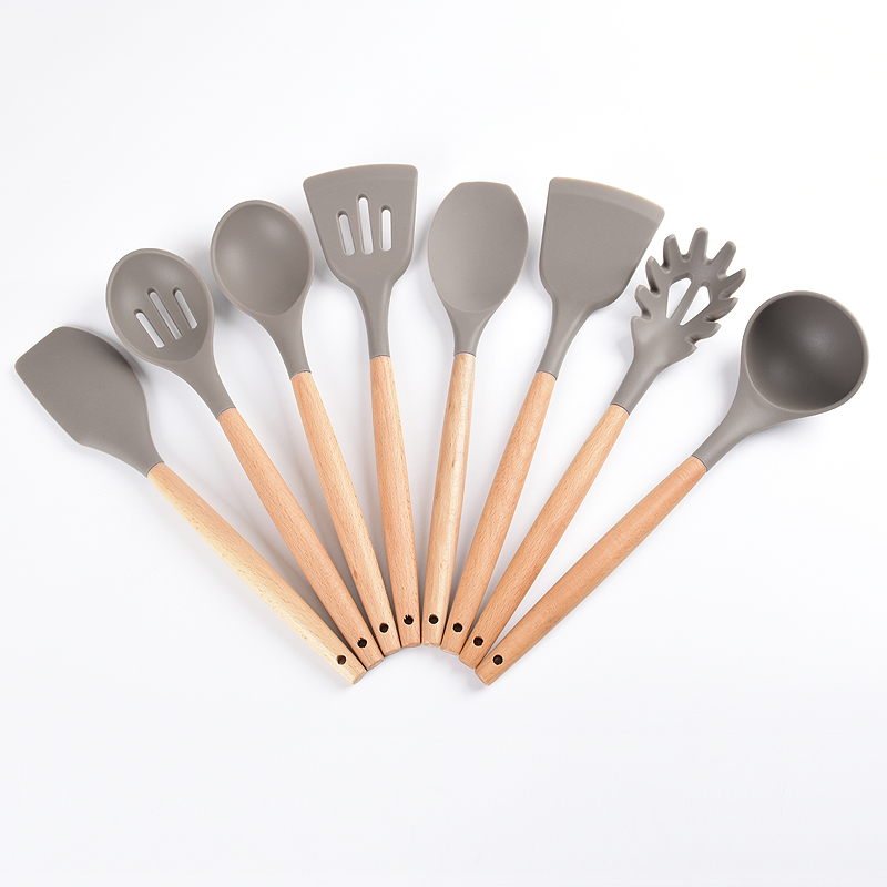 Kitchen Utensil Set Wooden