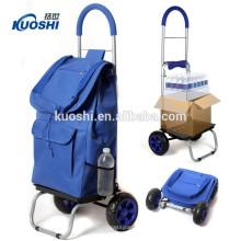 2018 vente chaude pour faire du shopping sac de chariot pliable de bonne qualité