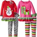 2017 Новейшие Детские Рождественские Одежда Оптом Бутик Одежды Девушки Одежды Малыша