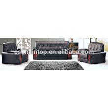 Ensemble de canapé durable pour design de bureau, meuble de bureau, conception et vente de meubles, Fabricant de meubles de bureau à Foshan (T3095)