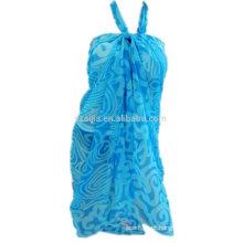 Senhora pare de sarong da cor das senhoras da forma