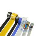 Black hot stamping foil date coding ribbon for batch number date printing