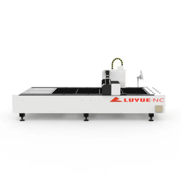 Máquina de corte por láser de fibra de cobre de una sola cama