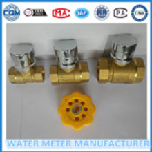 Brass Material Magnetic Lock Ball Water Valve
