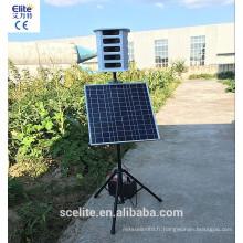 Max répulsif d'oiseau solaire avec 8 sons et carte à puce sonore remplaçable