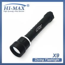 CREE XM-L2 U2 photographie sous-marine / lumière de photographie de scuba led