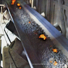 Correias transportadoras de borracha do cabo de aço resistente ao calor da chama do ISO