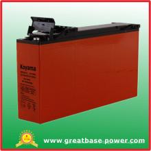 160ah 12V Front Terminal Access Gel Telecom Battery